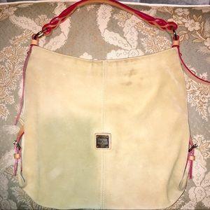 Dooney & Bourke Sueded Leather Shoulder Bag